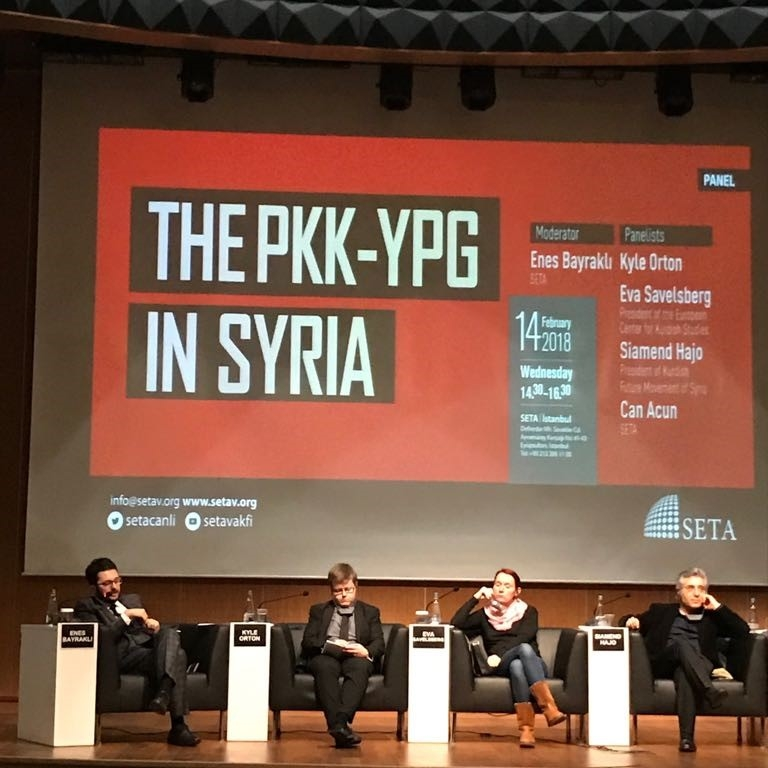 "Participation of Mr. Fuat Küçükaydın, PABSEC Deputy Secretary General in the SETA Panel ""The PKK-YPG in Syria"", Istanbul 14 February 2018"