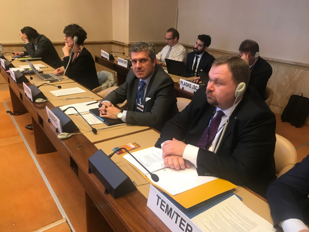 Participation of Mr. Miltiadis Makrygiannis, PABSEC Deputy Secretary General, in the 80th annual meeting of UNECE's Inland Transport Committee (ITC), Geneva, 20-23 February 2018