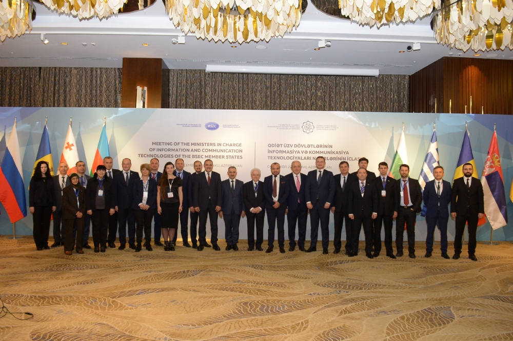 Participation of Mr. Asaf Hajiyev, PABSEC Secretary General in the Meeting of the Ministers in charge of Information and Communication Technologies of the BSEC Member States, Baku, 4 December 2018