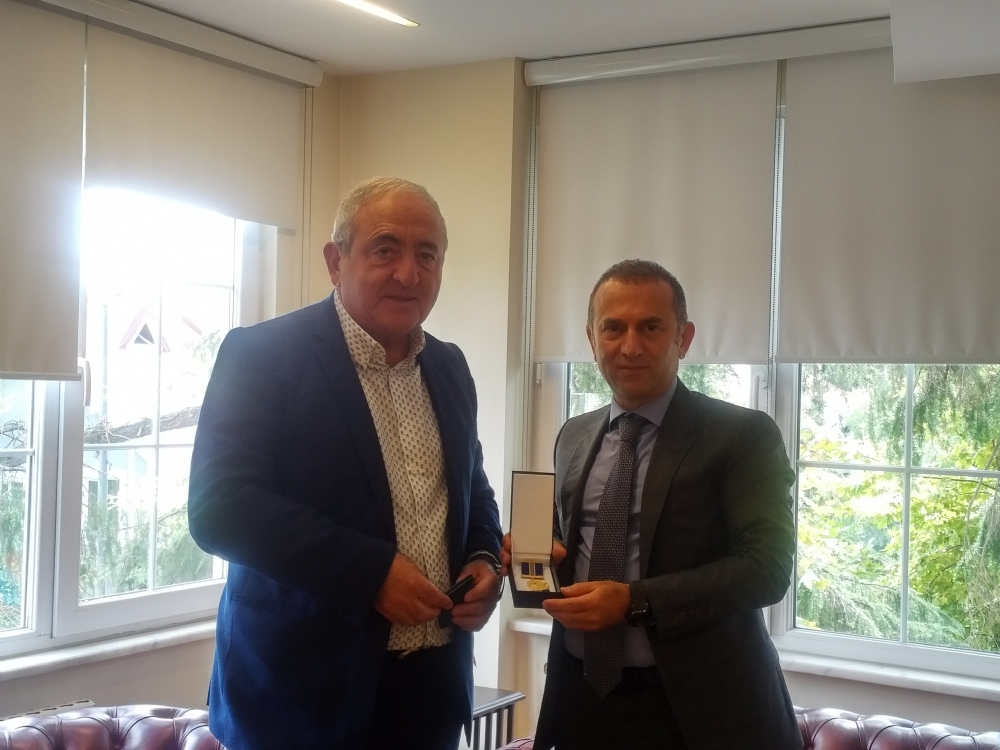 Visit of Mr. Mesim Hajiyev, Consul General of the Republic of Azerbaijan to Istanbul, to the PABSEC International Secretariat, Istanbul, 5 September 2019