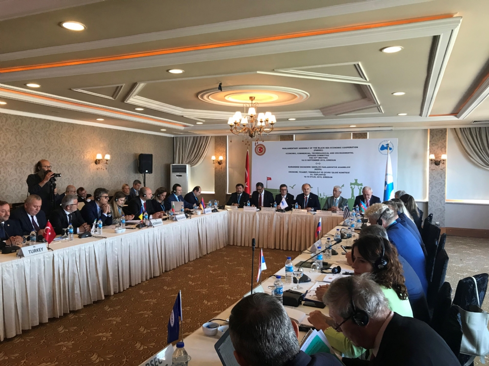 53rd Meeting of the PABSEC Economic, Commercial, Technological and Environmental Affairs Committee, Giresun, 18-19 September 2019