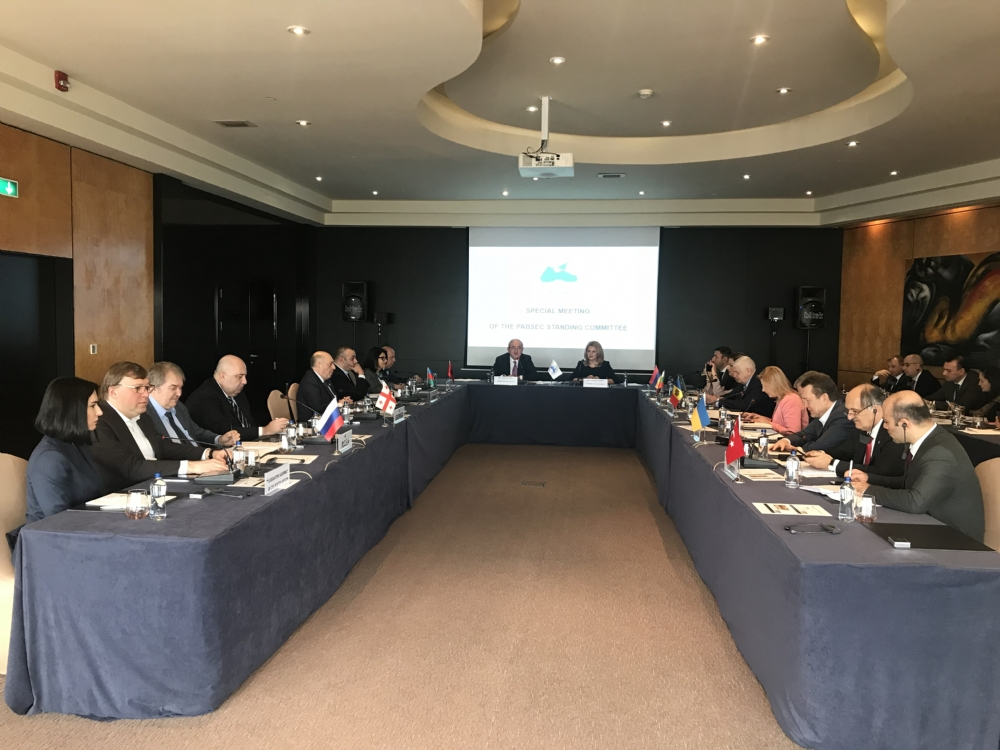 The Special Meeting of the PABSEC Standing Committee, Istanbul, 4 March 2020