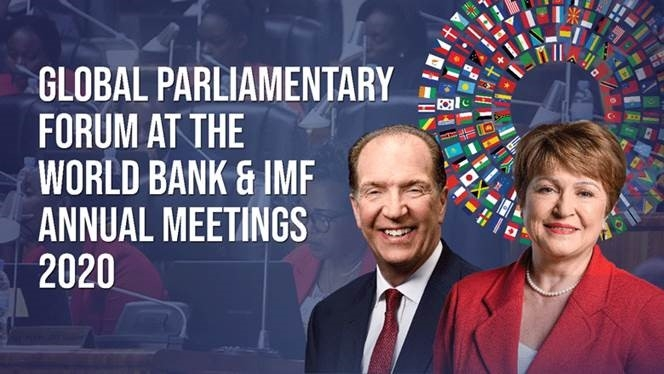 Participation of the PABSEC International Secretariat in the Virtual Global Parliamentary Forum at the World Bank and IMF Annual Meetings 2020, 12 - 15 October 2020
