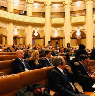 Participation of Mrs. Roberta Alma Anastase, PABSEC Vice-President, Head of the PABSEC Romanian Delegation and of Mr. Daniel Dulca, PABSEC Deputy Secretary General, in the 12th Plenary Session of the Parliamentary Assembly of the Mediterranean (PAM).