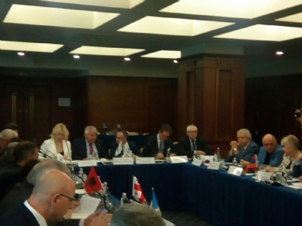 Participation of Mr. Petar Kanev, PABSEC Vice-President and Head of the PABSEC Bulgarian Delegation, in the 33rd General Assembly of the Union of Road Transport Associations in the BSEC Region (BSEC-URTA), Sofia, 8 June 2018