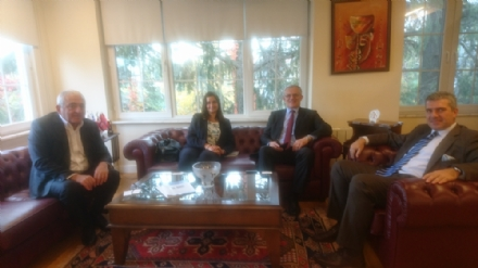 Visit of Ambassador Ivan Gyurcsik, Representative of Hungary to the BSEC, to the PABSEC International Secretariat, Istanbul, 31 October 2018