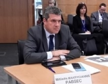 Participation of Mr. Miltiadis Makrygiannis, PABSEC Deputy Secretary General, in the Third Workshop on Security and Stability in the Mediterranean and the Middle East, Athens, 5 – 7 November 2018