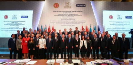 Participation of Mr. Asaf Hajiyev, PABSEC Secretary General, in the Eighth Plenary Session of the Parliamentary Assembly of the Turkic-Speaking countries (TURKPA), Izmir, 20-21 November 2018