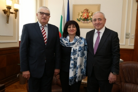 Visit of Mr. Asaf Hajiyev, PABSEC Secretary General, to Sofia on 5 February 2019, on the occasion of the 140th Anniversary of the National Assembly of the Republic of Bulgaria