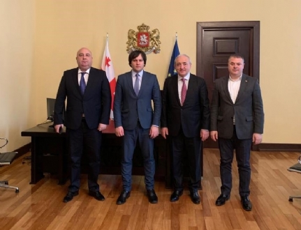Meeting of Mr. Asaf Hajiyev, the PABSEC Secretary General with Mr. Irakli Kobakhidze, the Chairman of the Parliament of Georgia, Tbilisi, 14 March 2019