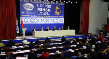 Participation of Mr. Asaf Hajiyev, PABSEC Secretary General,  in the Second International Parliamentary Conference of the OSCE PA Silk Road Support Group, Minsk, 29-30 April 2019