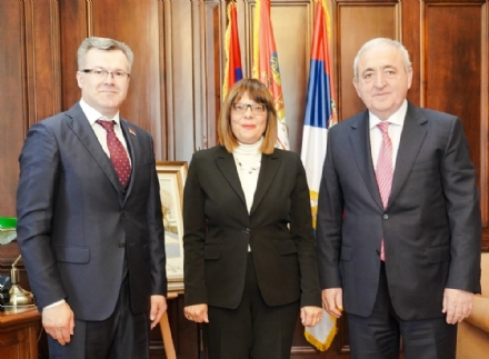Working visit of Mr. Asaf Hajiyev, PABSEC Secretary General, to the National Assembly of the Republic of Serbia, Belgrade, 7 May 2019