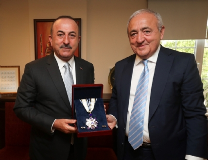 Visit of Mr. Mevlüt Çavuşoğlu, Minister of Foreign Affairs of the Republic of Turkey to the PABSEC International Secretariat, Istanbul, 28 May 2019