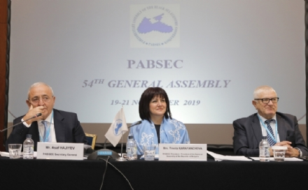 The 54th PABSEC General Assembly, Sofia, 19-21 November 2019 - first day, 19 November 2019 – the Meetings of the Working Group on the PABSEC Rules of Procedure, the Bureau of the Assembly and the Standing Committee