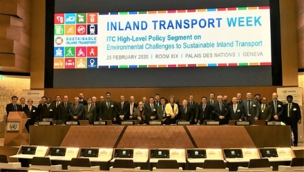 The PABSEC Participation in the 82nd Meeting of the Inland Transport Committee of the United Nations Economic Commission for Europe (UN ECE ITC), Geneva, 25-28 February 2020