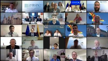 Participation of the PABSEC International Secretariat in the 29th Baltic Sea Parliamentary Conference (BSPC) – Vision 2030: Acting for the Future of the Baltic Sea Region, 24 August 2020