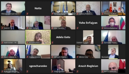 The 56th Meeting of the PABSEC Legal and Political Affairs Committee was held online on 8 October 2020