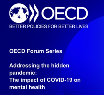 "Participation of the PABSEC International Secretariat to the OECD virtual event ""Addressing the hidden pandemic: The impact of COVID on Mental Health"", 15 April 2021"