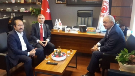 Meeting of Mr. Asaf Hajıyev, PABSEC Secretary General with Mr. Ramazan CAN, the Head of the Turkish PABSEC Delegation, Ankara, 30 May 2016