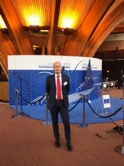 Participation of Mr. Daniel Dulca, PABSEC Deputy Secretary General, in the Spring Session of the Parliamentary Assembly of the Council in Europe (PACE), Strasbourg, 24-26 April 2017