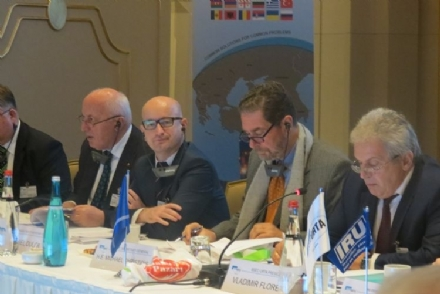 Participation of Mr. Daniel DULCA, the PABSEC Deputy Secretary General, in the 28th BSEC-URTA General Assembly, Istanbul, 3 December 2015