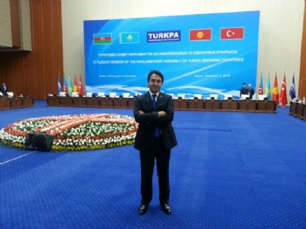 Participation of Mr. Hasan BAYTEKİN, the PABSEC Deputy Secretary General, in the 6th Plennary Session of TURKPA, Astana, 3-4 December 2015