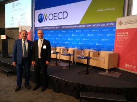 Participation of Mr. Ramazan Can, Head of the PABSEC Turkish Delegation, in the 2017 OECD Global Anti-Corruption and Integrity Forum, 30-31 March 2017, Paris