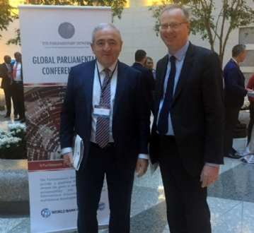 Participation of PABSEC Secretary General Mr. Asaf Hajiyev at the Global Parliamentary Conference (GPC) of the Parliamentary Network on the World Bank and International Monetary Fund, Washington DC, 10-12 April 2016