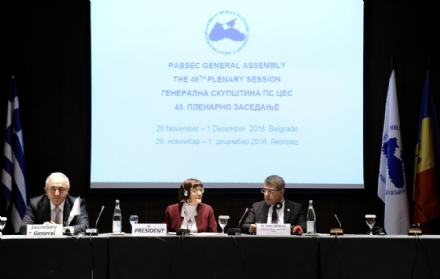 THE CLOSING OF THE FORTY-EIGHTH PABSEC GENERAL ASSEMBLY, BELGRADE, 1 DECEMBER 2016