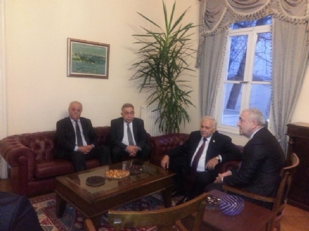 Visit of H.E Mr. Ogtay ASADOV, Speaker of the Milli Majlis of the Republic of Azerbaijan, to the PABSEC International Secretariat, Istanbul, 21 January 2015