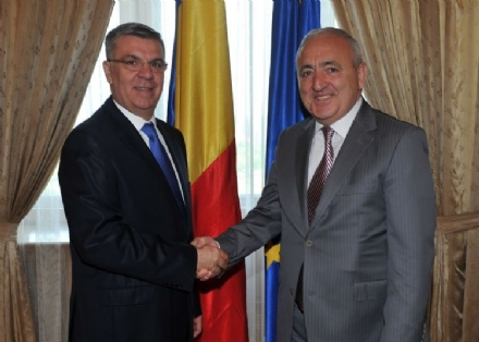 Visit of Mr. Asaf HAJIYEV, PABSEC Secretary General, to Bucharest, 26 May 2015