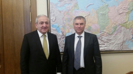 Visit of Mr. Asaf Hajiyev, PABSEC Secretary General, to Mr. Vyacheslav Volodin, Chairman of the State Duma of the Federal Assembly of the Russian Federation, 24 March 2017