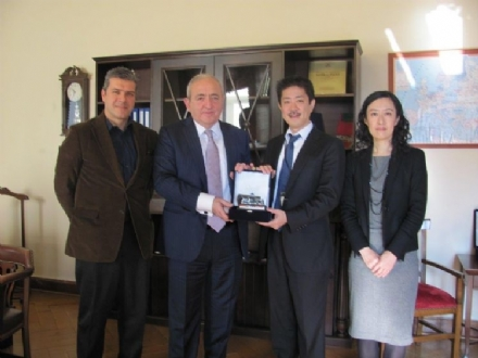 Visit of Mr. Yoshifumi SASATANI, Deputy Consul General of Japan to the PABSEC International Secretariat, Istanbul, 9 February 2016