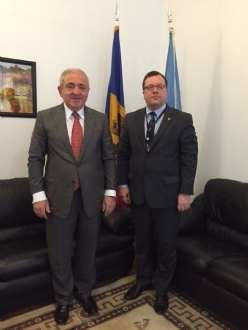 Visit of the PABSEC Secretary General Mr. Asaf Hajiyev to the United Nations Headquarters, New York, 15 – 18 May 2015