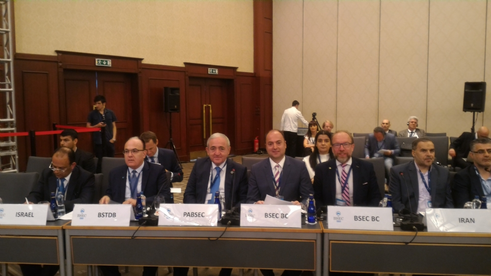 Participation of Mr. Asaf Hajiyev, PABSEC Secretary General, in the 36th Meeting of the Council of Ministers of Foreign Affairs of the BSEC Member States, Istanbul, 29 June 2017