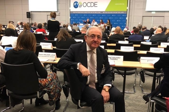 Participation of Mr. Asaf Hajiyev, PABSEC Secretary General in the 6th OECD Parliamentary Days, Paris, 7-9 February 2018
