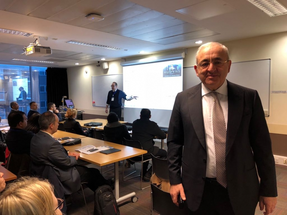 Participation of Mr. Asaf Hajiyev, PABSEC Secretary General, in the International Conference on e-Society, e-Learning and e-Technologies, London, 12-15 January 2018