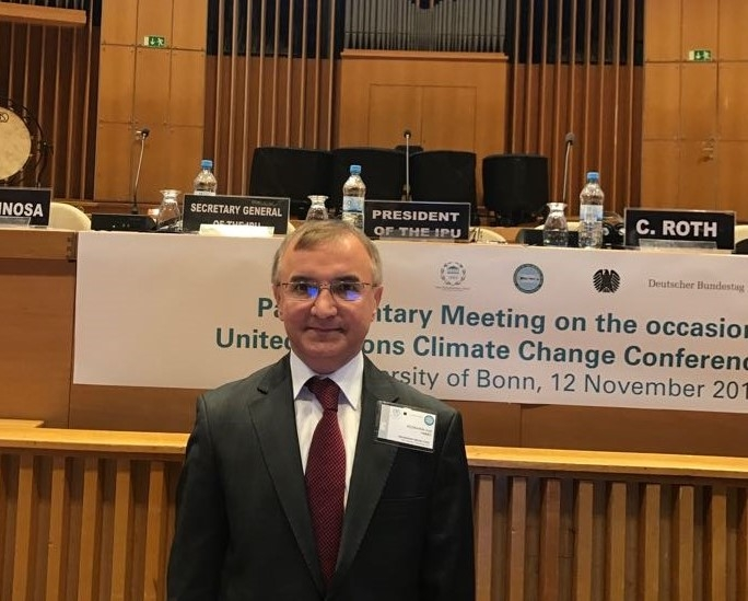 Participation of Mr. Fuat Küçükaydın, PABSEC Deputy Secretary General in charge of Administrative and Financial Matter, in the Parliamentary Meeting on the occasion of the UN Climate Change Conference, Bonn, Germany, 12 November 2017