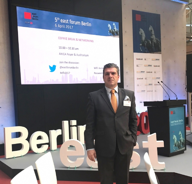 Participation of Mr. Miltiadis Makrygiannis, PABSEC Deputy Secretary General, in the 5th East Forum in Berlin, 5 April 2017