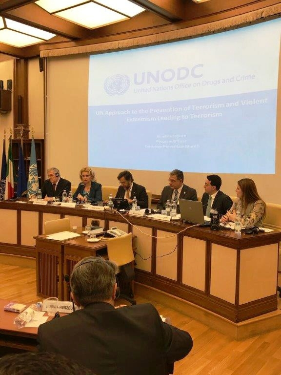 Participation of Mrs. Violeta Ivanov, PABSEC Vice-President, Head of the PABSEC Moldovan Delegation, in the PAM/UNODC high-level Parliamentary Conference, Rome, Italy, 30-31March 2017
