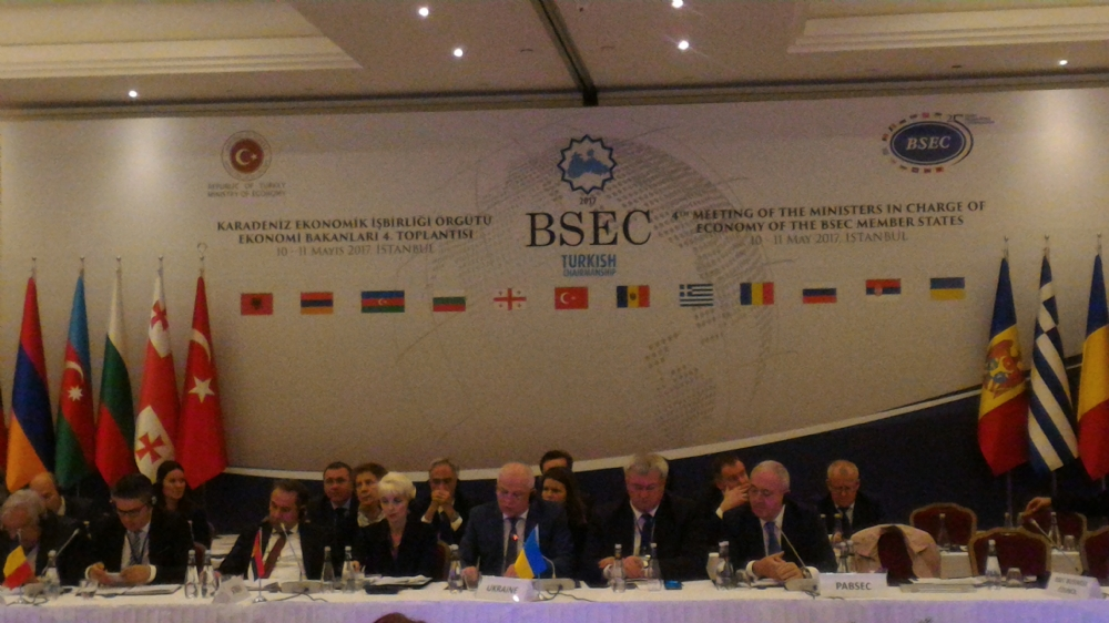 The 4th Meeting of Ministers in charge of Economy of the BSEC Member States,  Istanbul, 11 May 2017