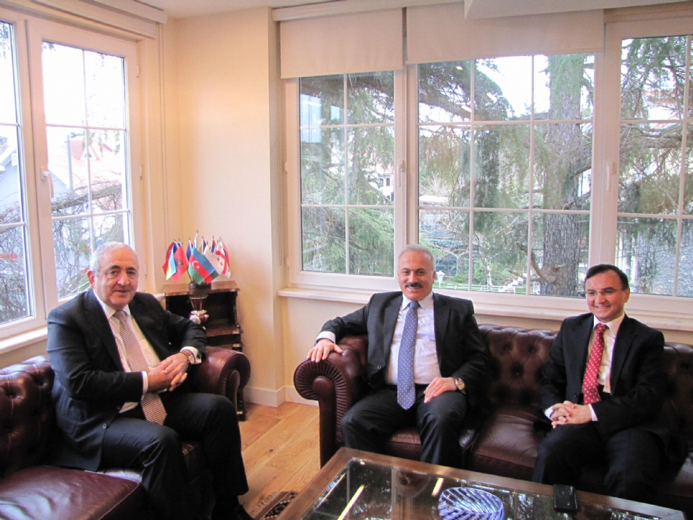 Visit of Mr. Mehmet Ali Kumbuzoğlu, the Secretary General of the Grand National Assembly of the Republic of Turkey to the PABSEC International Secretariat, Istanbul, 6 February 2017