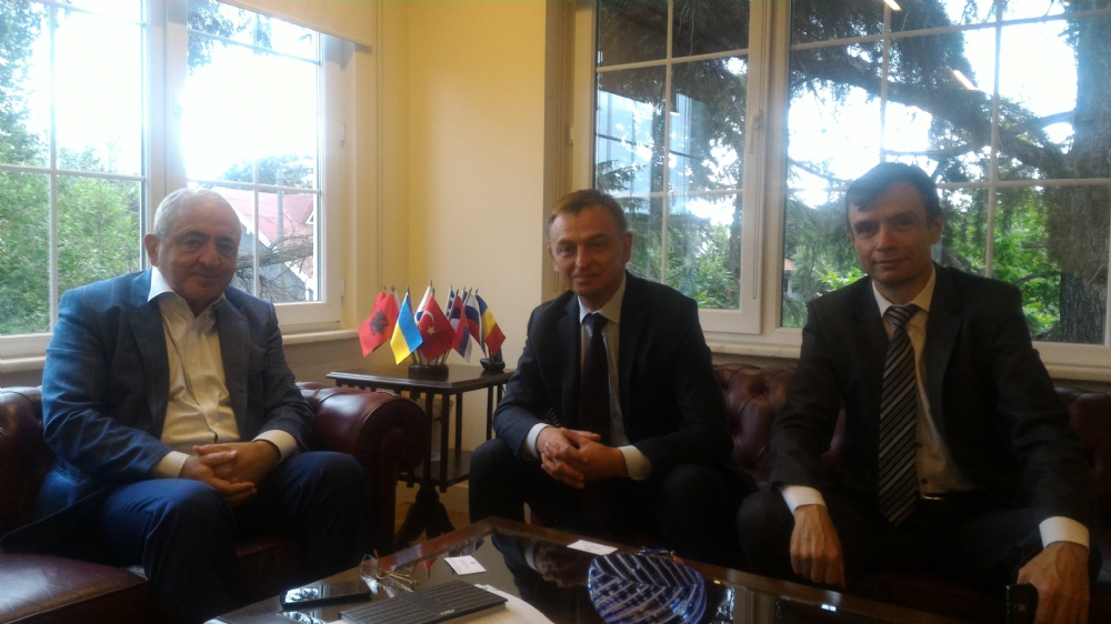 Visit of Mr. Oleksandr Gaman, Consul General of Ukraine in Istanbul, to the PABSEC International Secretariat, Istanbul, 17 July 2017